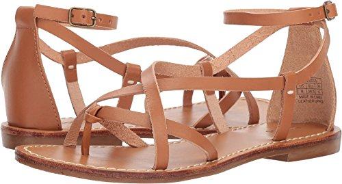 Soludos Women's Amalfi Leather Sandal Nude 6 B US