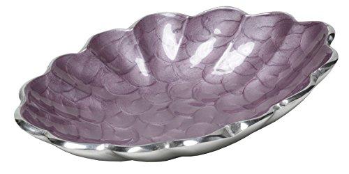 """Artisan d'Orient 5"""" Oval Bowl, Color - Purple"""