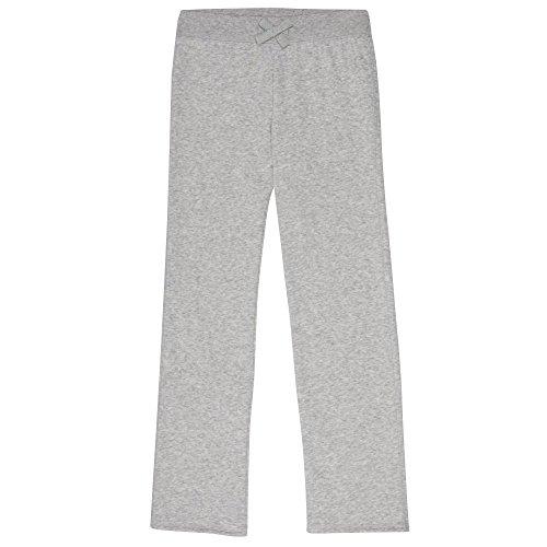 French Toast Girls' Big Fleece Sweatpant, Heather Gray L (10/12)