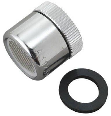 (brass craft service parts sf0047x 13/16 -Inch, Chrome x 24 Female Thread, Faucet Aerator )