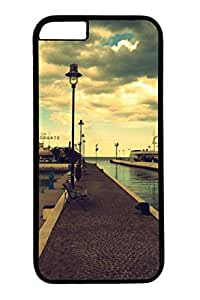City Sights 05 Slim Hard Cover for iPhone 6 Plus Case ( 5.5 inch ) PC Black Cases wangjiang maoyi