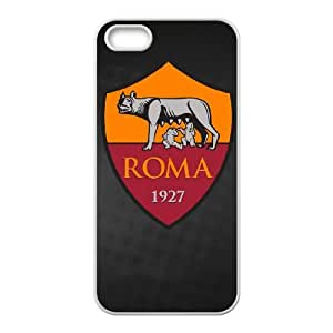 As Roma Logo iPhone 4 4s Cell Phone Case White Customized Toy pxf005-7821045