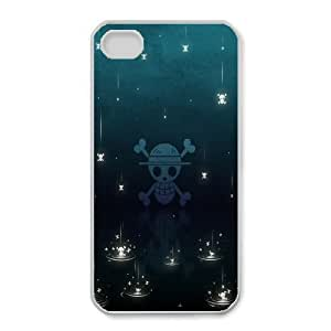 iPhone 4,4S Phone Case White One Piece DY7708248