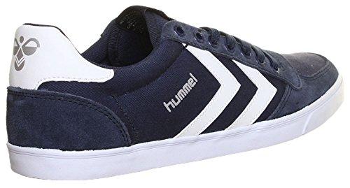 Hummel , Chaussures de skateboard pour homme - Bleu - Navy White, 39.5