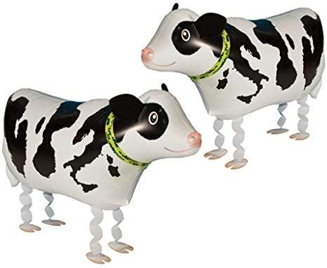 Mattelsen Globos de Animal Caminando Helio Vacas Juguetes Inflables Hinchables para niños de la decoración de la Fiesta de cumpleaños de los Globos ...