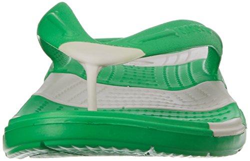 crocs Women's Fashion Sandals Grass Green/Pearl White 4hRRPkN
