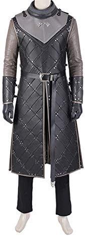 nihiug Juego de Tronos Temporada 8 Disfraz de Cosplay Jon Snowo ...