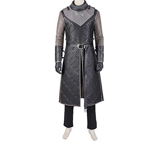 nihiug Juego de Tronos Temporada 8 Disfraz de Cosplay Jon ...