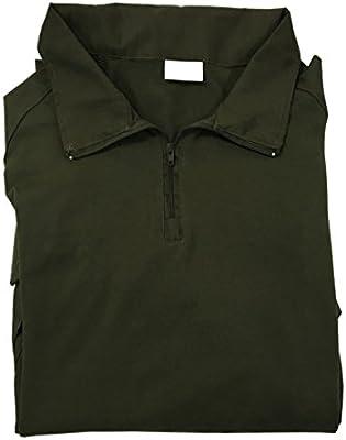 TACVASEN - Camiseta de manga larga con bolsillos para hombre ...