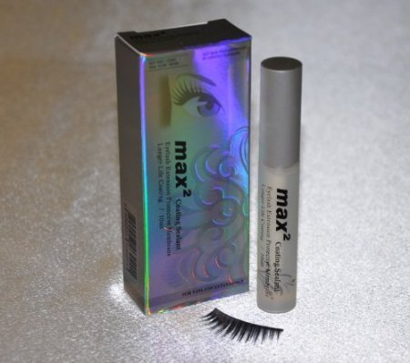 Eyelash Extensions Max 2 Clear Coating Sealer / Protective Longer Life Sealant