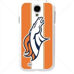 NFL American football Denver Broncos Samsung Galaxy S4 SIV I9500 TPU Soft Black or White case (White) by icecream design