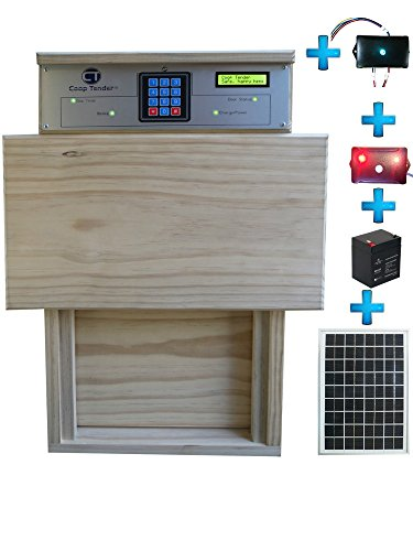 Bundle-Solar-Automatic-Chicken-Coop-Door-Internet-Wi-Fi-Module-Predator-Motion-Module