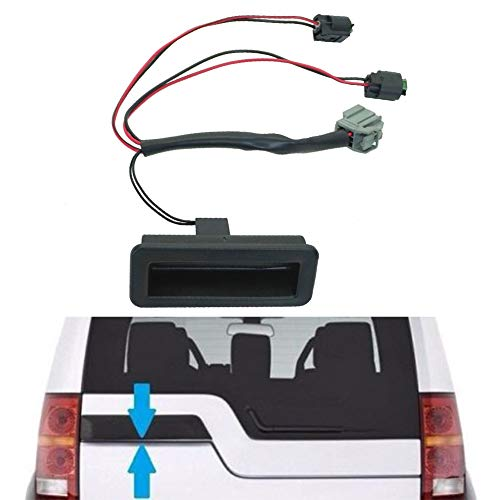 Automotive Tailgate Switch, Black Boot Tailgate Trunk Car Switch Repair Kit Handle for Land Rover Discovery 3/4(black)