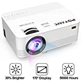[TV Projector] POYANK 2400Lumens [2019 Upgraded] Mini Projector- 50,000 Hours LED Projector, Compatible
