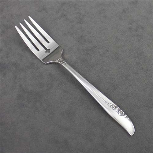 1881 Rogers Silverplate Flatware - Lilac Time by 1881 Rogers, Silverplate Salad Fork