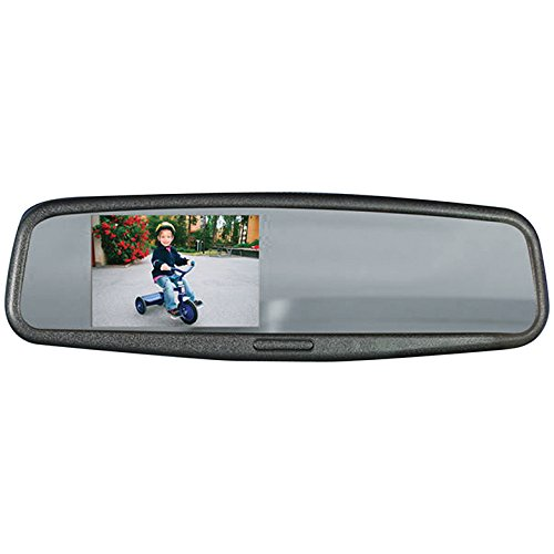Audiovox LCDM41A Replacement Rear View Mirror With Embedded 4