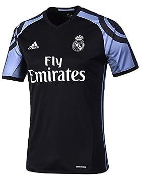 adidas Camiseta del Real Madrid, tercera equipación, para hombre, black/