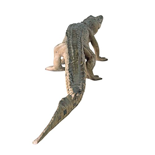 Design Toscano The Grand-Scale Wildlife Animal Collection: The Walking Crocodile Statue by Design Toscano (Image #3)
