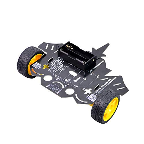 2WD Smart Robot Car Chassis Kit with Battery Box for Raspberry Pi, Arduino Robot Car