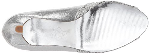 Adrianna Papell Womens Jude Pump Argento Sterling Metallico