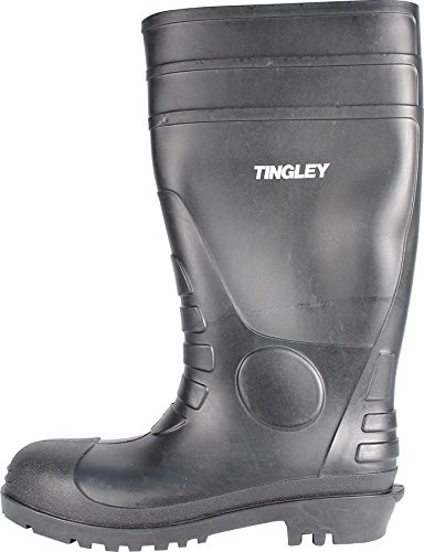TINGLEY 31151 Economy SZ10 Kneed Boot for Agriculture, 15-Inch, Black ()