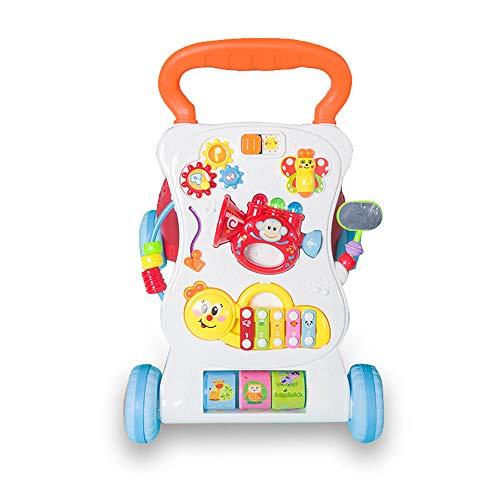 Multifunktions-Babywanderer Verhindern, DASS Sich die Beine und Knie des Bogens drehen Fun Toys und Kids Activity Center…