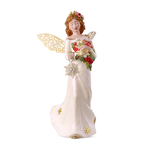 (Hallmark Keepsake Christmas Ornament 2018 Year Dated, Winter Angel, Porcelain)
