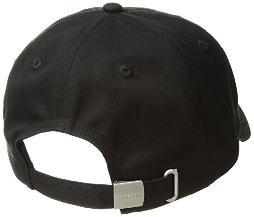54633c2a8 Lacoste Men's Small Croc Strapback Cap, Black One Size - Import It All