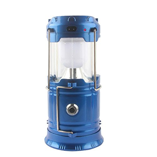 LUOYIMAN Outdoor Lantern Flashlight LED Camping Lantern Protable Tent Light Solar Charging