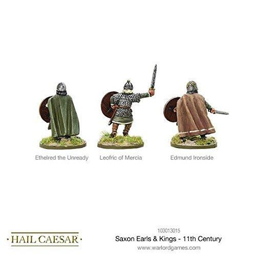 Warlord Games, Hail Caesar - Saxon Earls & Kings - 11th Century - Wargaming miniatures by hail caesar