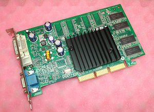 Dell 9Y452 NVidia GeForce FX 5200 128MB Video Card 8X AGP For Desktop/Tower Systems with an AGP video slot Identical Part: G0001 (Nvidia Geforce Fx 5200)