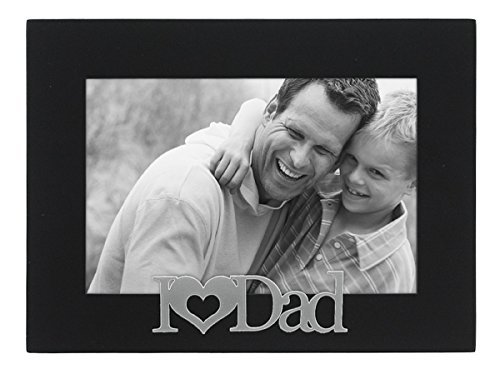 Malden International Designs I Love Dad Expressions Picture Frame, 4x6, Black