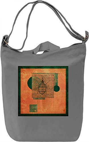 Surreal Bug Borsa Giornaliera Canvas Canvas Day Bag| 100% Premium Cotton Canvas| DTG Printing|