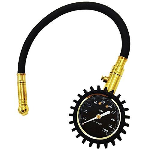 CT-CARID Flexi-Pro Professional Tire Pressure Gauge Dial Car Manometer - 60 PSI