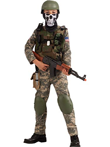 Deluxe Child Camo Trooper Costume,