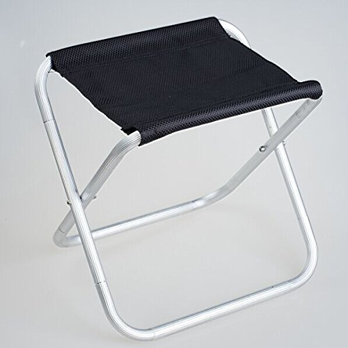 KARELU Mini Folding Chair Aluminum Chair Camping Stool for Camping Traveling