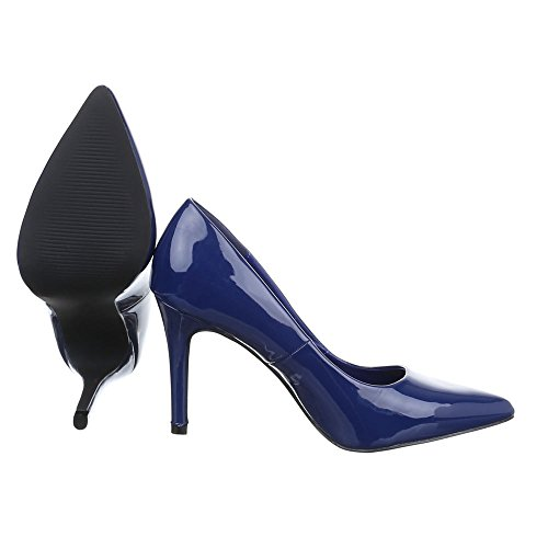 Ital-Design - Plataforma Mujer Blau PA15732