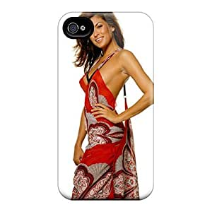 Mialisabblake Snap On Hard Case Cover Eva Mendes Protector For Iphone 4/4s