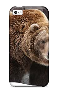 5c Scratch-proof Protection Case Cover For Iphone/ Hot Grizzly Bears Phone Case