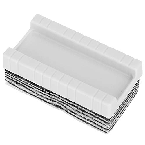 Home Office Schools Disposable Whiteboard Felt Eraser 10 Layers Fluffy Pads 9.7cm