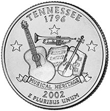 2002 D Tennessee State Quarter Choice Uncirculated