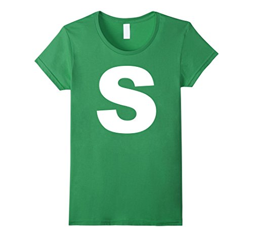 Group Halloween Costumes For Teenagers (Womens Group Halloween Costume T-Shirt | S Shirt Small Grass)
