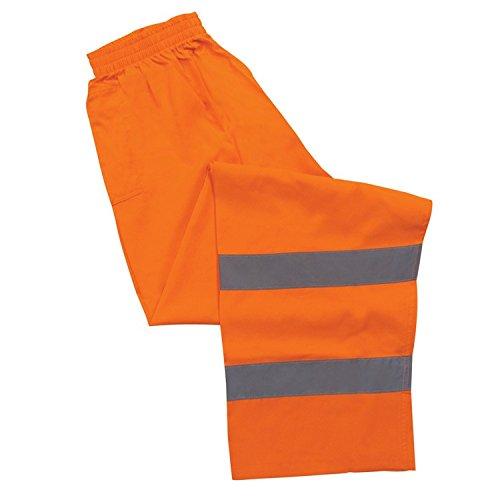 ERB 14567 S21 Class 3 Safety Pants, Orange, X-Large