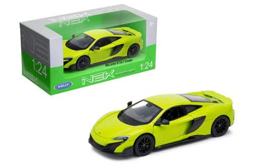 Price comparison product image DIECAST 1:24 W / B - MCLAREN 675LT Coupe (Green) 24089W-GRN by WELLY
