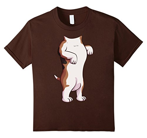 The Dog Beagle Costume (Kids Beagle Costume T-Shirt for Halloween Beagle Dog Animal Tee 12 Brown)