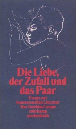 Die Liebe, der Zufall und das Paar: Essays zur homosexuellen Literatur (suhrkamp taschenbuch)