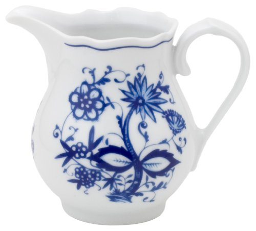 KAHLA Onion Pattern, Creamer 8-1/2 oz, Rossella Color, 1 Piece (Creamer Onion Blue)
