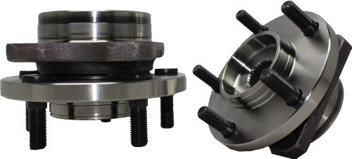 Brand New (Both) Front Wheel Hub and Bearing Assembly Caravan, Grand Caravan, Voyager, Grand Voyager 5 Lug 15
