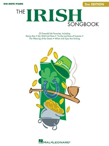 The Irish Songbook (Big Note Piano) (Irish Sheet Piano Music)