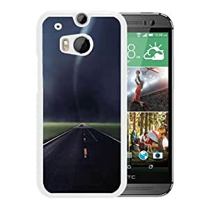 Tornado Storm (2) Durable High Quality HTC ONE M8 Phone Case